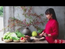 Ли ЦзыЦи ДЕВУШКА С ХАРАКТЕРОМ Большое блюдо Лэ И ДаПань с ароматным клейким рисом и разными вкусностями Дай Вэй Шоу Чж