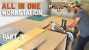 No clash MITER SAW INSTALLED to table saw station ALL IN ONE woodworking workbench P3