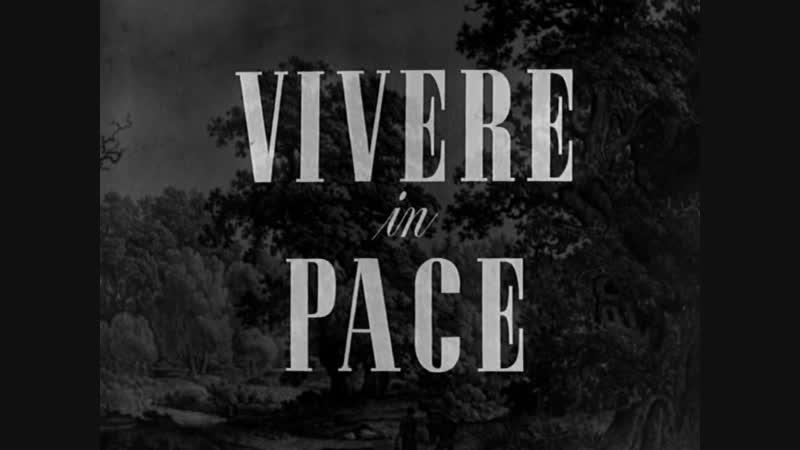 Luigi Zampa Vivere in pace 1947