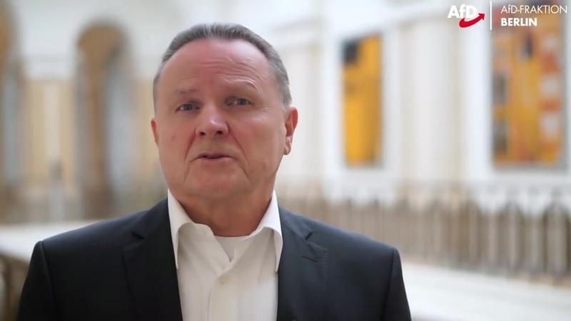 Politische Osteransprache der AfD 2018 AfD Fraktion Abgeordnetenhaus Berlin