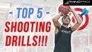 TOP 5 KILLER BASKETBALL SHOOTING DRILLS!! How to Shoot a Basketball Better in 2018!