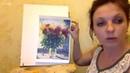 Ирина Шпакова Масляная живопись мастихином Маки