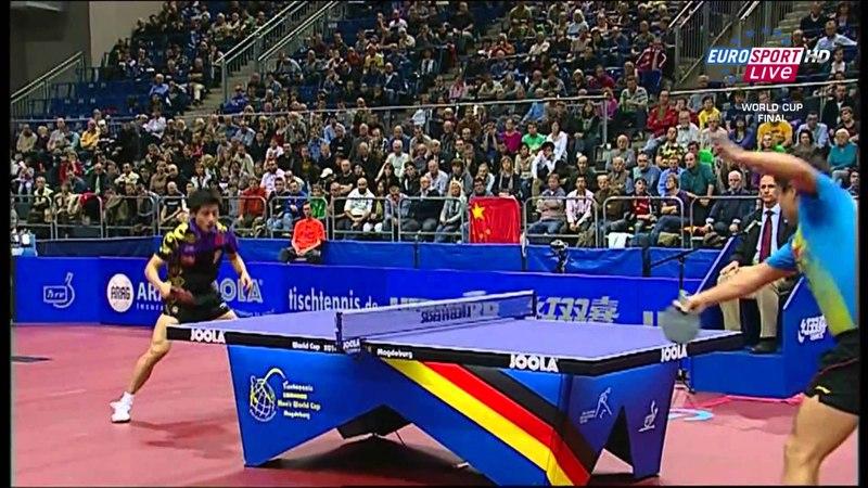 2010 Men's World Cup (ms-final) Wang Hao Vs Zhang Jike [Full match /english] [HD1080p]