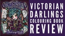Victorian Darlings Colouring Book Review