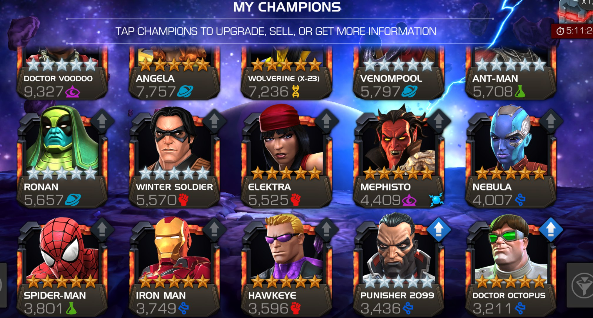 Selling - Rating 400k-500k - Both Android/iOS - Lvl60