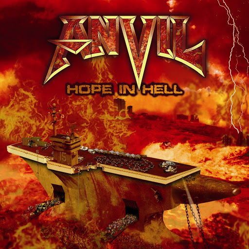 Anvil альбом Hope in Hell (Bonus Tracks Version)