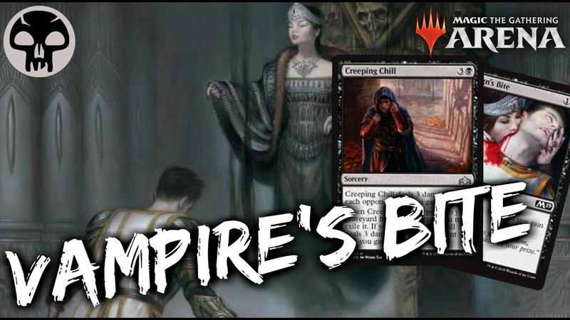 Vampire's Bite [MTG Arena]   Mono-Black Vampire Drain Deck in GRN Standard