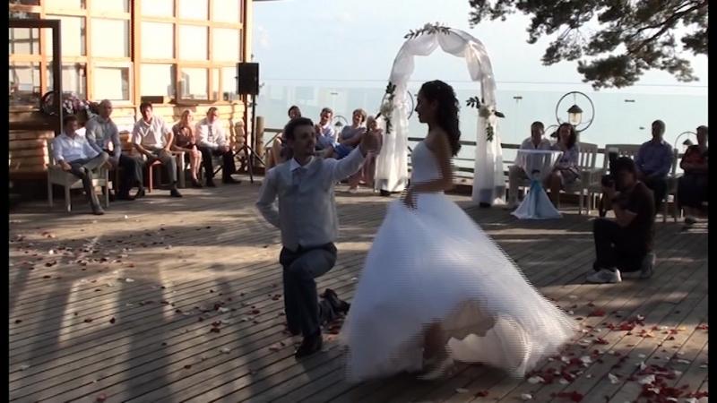 Свадебный танец Максима и Сабины венский вальс