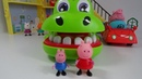 PEPPA PIG Plays a Fun Game Crocodile Dentist Funny Video for Kids Сhild Game