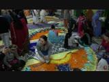 Как преданные готовили цветочные платья для Божаств Пушья Абхишеки