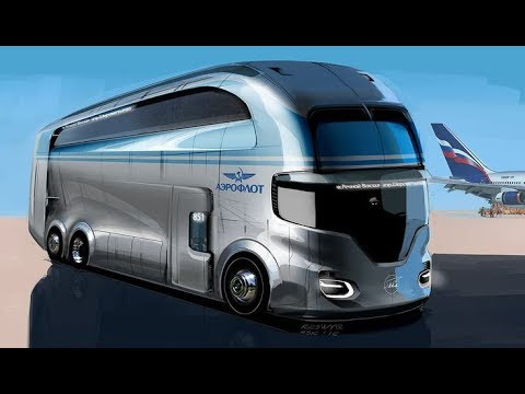 Top 10 Future Bus Concepts | Futuristic Buses |
