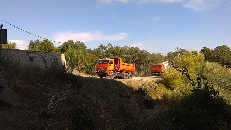 Захват земли на территории Природного Памятника Красный Камень