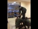 Совершение прыжка с Ми-8 в тяжелых метеоусловиях 😂 армия курсанты солдаты