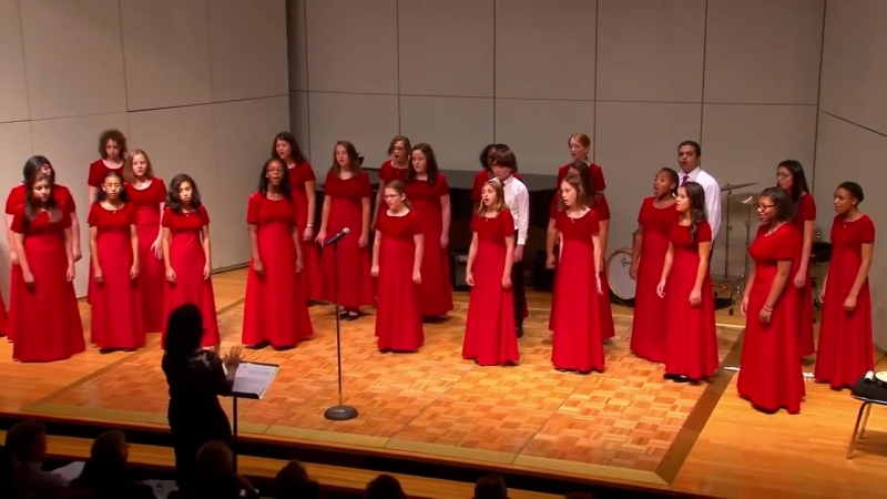 Treble choir of Houston - To my beautiful unknown future