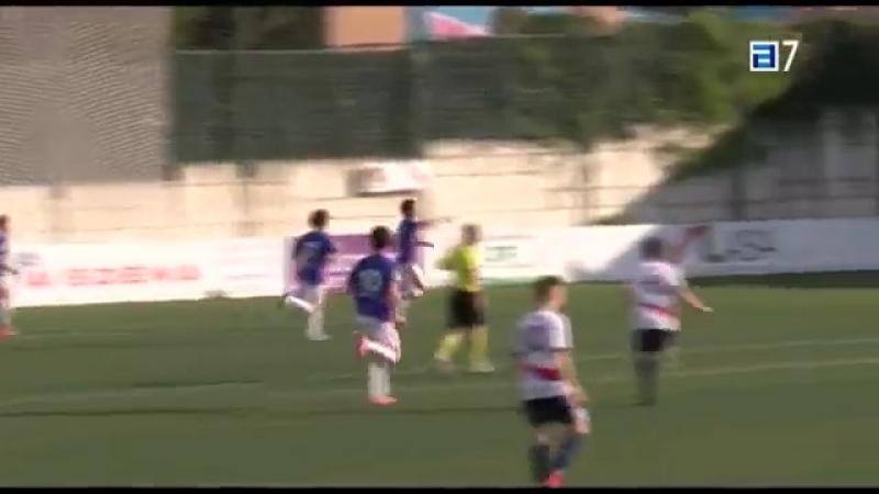 UD Мутильвера - Реал ОВьедо Б, 0-2, Терсера 2017-2018, чемпионский плей-офф, 1 матч