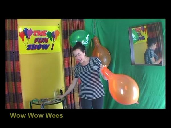 Balloon Games - Sit On Balloons!