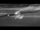 USAAF fighter planes shooting down German airplanes and strafe lines of Stock Footage