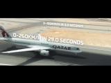 Болид Формулы-E посоревновался с двумя самолетами