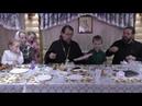 Встреча с семьей Корепановых в приходском клубе Подсолнухи