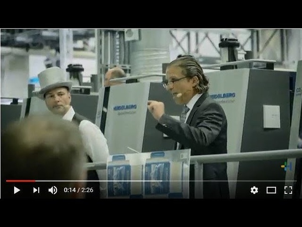 """""""Think out of the Box"""" - Heidelberg shows packaging solutions for the digitized future."""