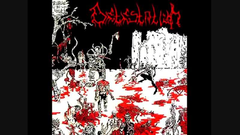 Detestation (USA) - Massacre Of Hate -1995