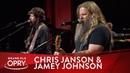 Chris Janson Jamey Johnson - Footlights   Live at the Grand Ole Opry   Opry