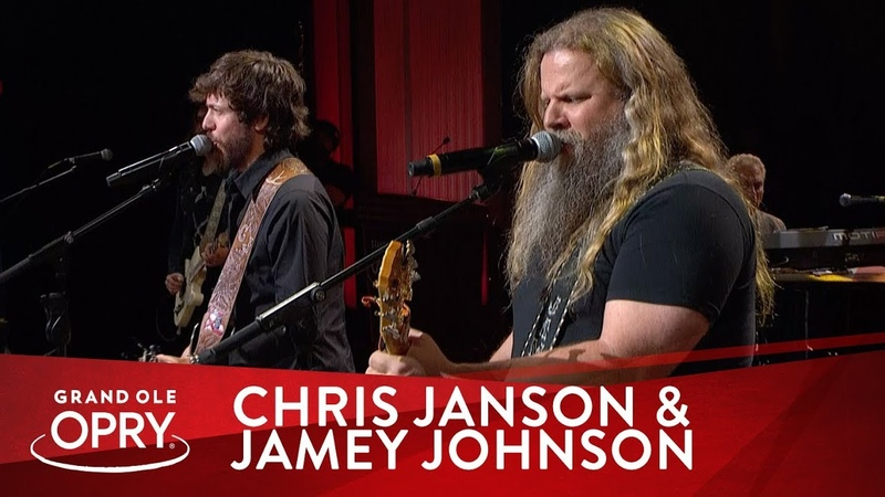 Chris Janson Jamey Johnson Footlights Live at the Grand Ole Opry Opry