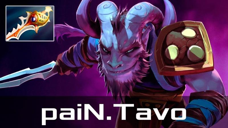 PaiN.Tavo — Riki, Offlane (Jan 4, 2019)   Dota 2 patch 7.20 gameplay
