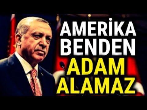 Erdoğan, Yaşadığım Sürece Amerika Benden Adam Alamaz.