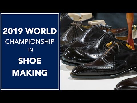World Championship in Shoe Making 2019 👞 | Kirby Allison