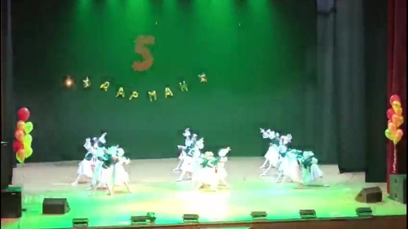 Ансамбль Дарман казахский танец