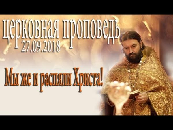 Хватит топтать Православие! Чему учим, какой пример подаем детям? Прот. Андрей Ткачёв