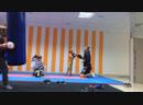 Тренировка Отработка ударов в стойке партере угловом доминировании уход от удара