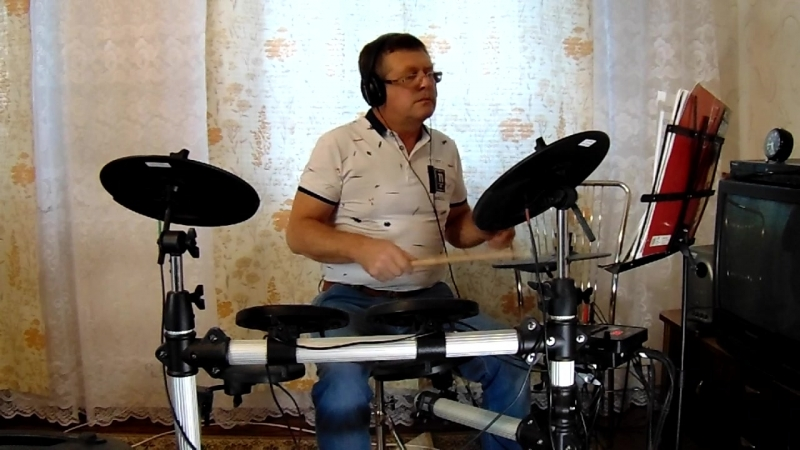 MAH01047Dealer(Диллер)Deep Purple Come Taste(1975g)drum cover Pautov Wladimir