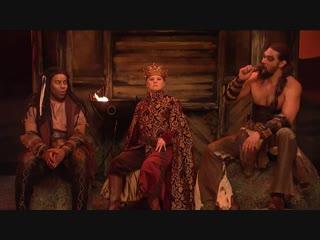 'snl': jason momoa resurrects his 'game of thrones' character khal drogo