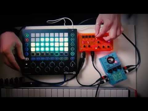 If you want a picture of the future - Novation Circuit and Microgranny jam