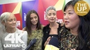 Andrea Riseborough, Christina Choe, Michelle Cameron, T Sahara Meer at on Nancy Time's Up / metoo