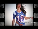 Andressas Body Paint in Honor of Patriots