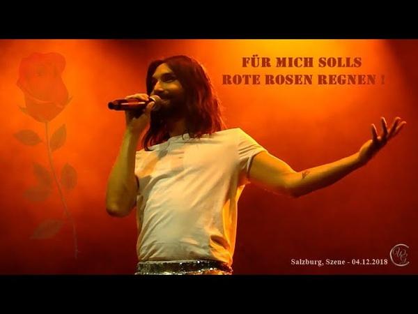 Für mich soll's rote Rosen regnen - ConchitaSWSG - Salzburg, 04.12.2018
