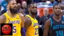 Los Angeles Lakers vs Charlotte Hornets 1st Half Highlights | 12.15.2018, NBA Season