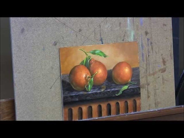 Oranges 3 - Oil Painting/ Glazing/ Detail and Highlights