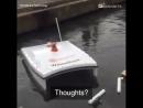 Аппарат для сбора мусора на воде
