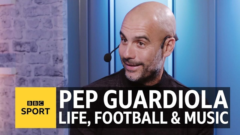 Pep Guardiola The six songs that define my life, love, football and family - BBC Sport