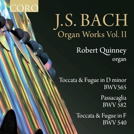 Johann Sebastian Bach альбом J.S. Bach Organ Works Volume II