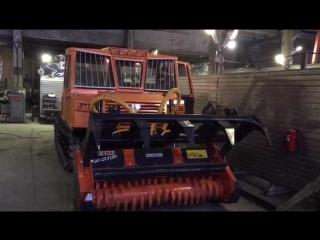Мульчер Ferri на гусеничной машине МСН 10-003, г.Барнаул