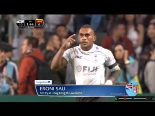 CUP Finals _ Fiji vs Kenya HONG KONG 7s 2018