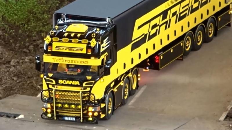 RC Trucks LKW Schwertransport | Messe Faszination Modellbau Friedrichshafen 2017 | Teil 1