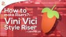How to make Risers in FL Studio 02 Vini Vici style riser Tutorial
