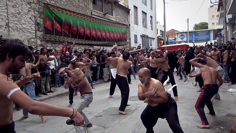 Muslims in Greece self-flagellate to mark day of Ashura