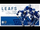 NHL 19 PS4 REGULAR SEASON 2018 2019 Los Angeles KINGS VS Toronto MAPLE LEAFS 10 15 2018 NBCSN